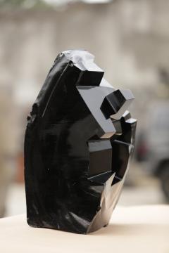 Jorge Y zpik Untitled sculpture Obsidian I - 1147194