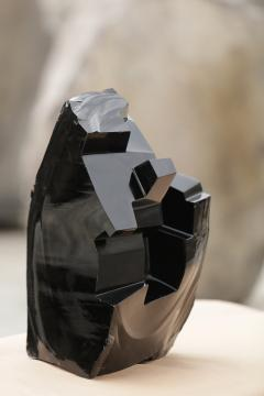 Jorge Y zpik Untitled sculpture Obsidian I - 1147197