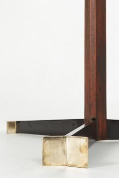 Jorge Zalszupin Brazilian Jorge Zalszupin triangular table rosewood 50s - 1856567