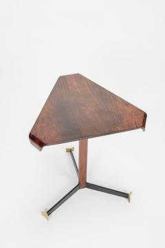 Jorge Zalszupin Brazilian Jorge Zalszupin triangular table rosewood 50s - 1856568