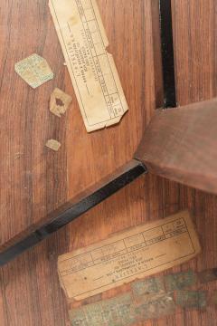 Jorge Zalszupin Brazilian Jorge Zalszupin triangular table rosewood 50s - 1856569