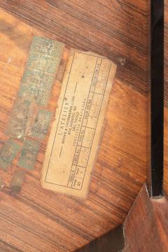 Jorge Zalszupin Brazilian Jorge Zalszupin triangular table rosewood 50s - 1856570