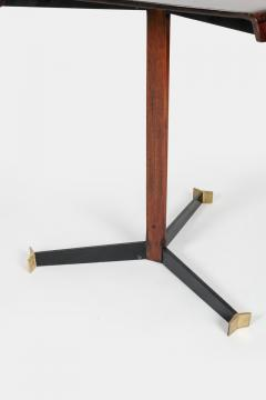 Jorge Zalszupin Brazilian Jorge Zalszupin triangular table rosewood 50s - 1856571