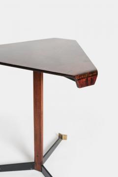 Jorge Zalszupin Brazilian Jorge Zalszupin triangular table rosewood 50s - 1856575