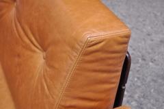 Jorge Zalszupin Brazilian Modern Rosewood and Leather Modular Sofa or Settees - 1147595