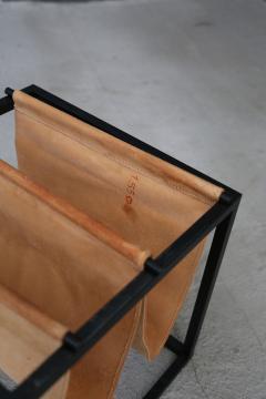 Jorge Zalszupin Domino magazine rack with table by Jorge Zalszupin - 1065388