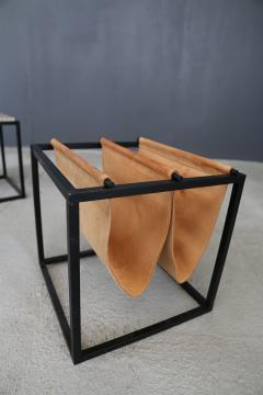 Jorge Zalszupin Domino magazine rack with table by Jorge Zalszupin - 1065391