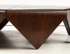 Jorge Zalszupin Mid Century Modern P talas Coffee Table by Jorge Zalszupin Brazil 1960s - 1940028