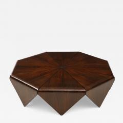Jorge Zalszupin Mid Century Modern P talas Coffee Table by Jorge Zalszupin Brazil 1960s - 1942329