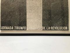 Jornada Triunfo de la Revolucion Original Dedicated Poster - 1619598
