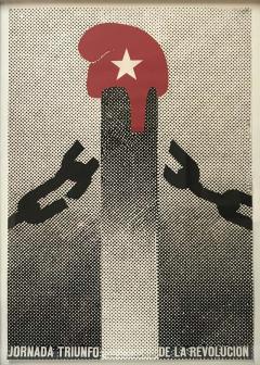 Jornada Triunfo de la Revolucion Original Dedicated Poster - 1642931