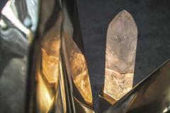 Jos De Matos Rock crystal sculpture table - 1037606