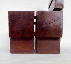 Jos Zanine Caldas Sculptural Low Brazilian Organic Modernist Design Vintage Rosewood Chair - 1020342