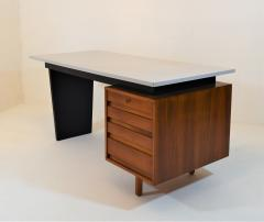 Jos de Mey Minimalistic Writing Desk by Jos De Mey for Van Den Berghe Pauvers Belgium  - 987827