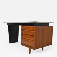 Jos de Mey Minimalistic Writing Desk by Jos De Mey for Van Den Berghe Pauvers Belgium  - 989521