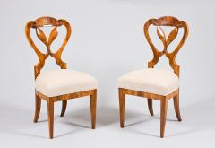 Josef Danhauser A Pair of Two Exceptional Biedermeier Chairs - 457276