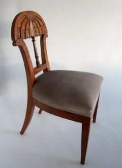 Josef Danhauser A Superb Set of Ten Viennese Biedermeier Dining Side Chairs Josef Danhauser - 1323457