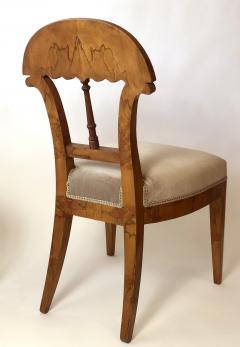 Josef Danhauser A Superb Set of Ten Viennese Biedermeier Dining Side Chairs Josef Danhauser - 1338257