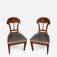Josef Danhauser A Superb Set of Ten Viennese Biedermeier Dining Side Chairs Josef Danhauser - 1344599