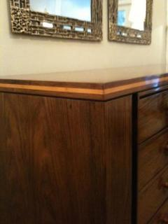 Josef DeCoene Art Deco Sideboard on Stand in Rosewood attributed to Josef DeCoene - 215604