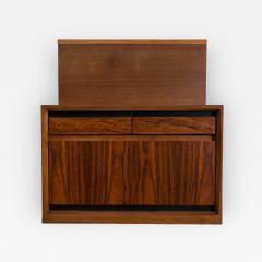 Josef DeCoene Wall Mounted DeCoene Headboards with Bedside Tables - 284147