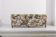 Josef Frank 4 Seat Sofa with Floral Fabric by Josef Frank for Svenskt Tenn 1950s - 1504631