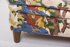Josef Frank 4 Seat Sofa with Floral Fabric by Josef Frank for Svenskt Tenn 1950s - 1504632