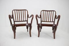 Josef Frank Set of Two Armchairs No 752 by Josef Frank for Thonet 1930s - 1691877