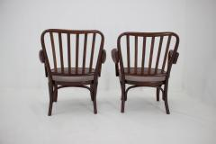 Josef Frank Set of Two Armchairs No 752 by Josef Frank for Thonet 1930s - 1691879
