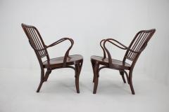 Josef Frank Set of Two Armchairs No 752 by Josef Frank for Thonet 1930s - 1691880