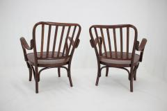 Josef Frank Set of Two Armchairs No 752 by Josef Frank for Thonet 1930s - 1691882