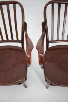 Josef Frank Set of Two Armchairs No 752 by Josef Frank for Thonet 1930s - 1691888