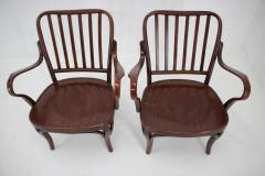 Josef Frank Set of Two Armchairs No 752 by Josef Frank for Thonet 1930s - 1691889