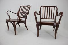 Josef Frank Set of Two Armchairs No 752 by Josef Frank for Thonet 1930s - 1691894