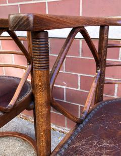 Josef Hoffmann Josef Hoffmann Fledermaus Chairs for J J Kohn - 1194547