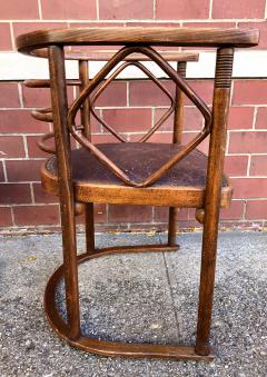 Josef Hoffmann Josef Hoffmann Fledermaus Chairs for J J Kohn - 1194555