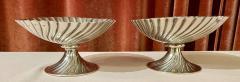 Josef Hoffmann Josef Hoffmann for Wiener Werkstatte Vienna circa 1920 Silver Dish Pair - 1807044