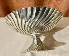 Josef Hoffmann Josef Hoffmann for Wiener Werkstatte Vienna circa 1920 Silver Dish Pair - 1807049
