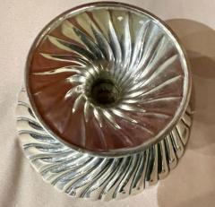 Josef Hoffmann Josef Hoffmann for Wiener Werkstatte Vienna circa 1920 Silver Dish Pair - 1807052