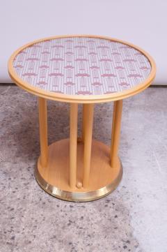 Josef Hoffmann Josef Hoffmann for Wittmann Cabaret Fledermaus Side Table in Beechwood - 1645942