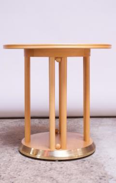 Josef Hoffmann Josef Hoffmann for Wittmann Cabaret Fledermaus Side Table in Beechwood - 1645948