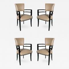 Josef Hoffmann Outstanding Set Of 4 Josef Hoffmann Chairs   415532