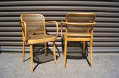 Josef Hoffmann Pair of Vintage Bentwood Armchairs by Joseph Hoffmann for Stendig - 1382731