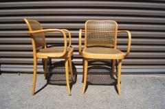 Josef Hoffmann Pair of Vintage Bentwood Armchairs by Joseph Hoffmann for Stendig - 1382732