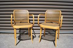 Josef Hoffmann Pair of Vintage Bentwood Armchairs by Joseph Hoffmann for Stendig - 1382734