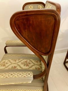 Josef Hoffmann Rare Pair of Josef Hoffmann Wingback Chairs - 1046985