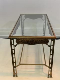 Josef Hoffmann SECESSIONIST ERA ORNATE BRONZE TABLE - 1082124