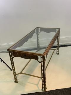 Josef Hoffmann SECESSIONIST ERA ORNATE BRONZE TABLE - 1082125