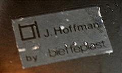 Josef Hoffmann Set of Six Accessories Josef Hoffman for Bieffeplast Weiner Werkstatte - 1012042