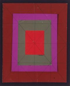 Josef Zenk Concentric Squares  - 1263887